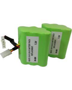 XV Series Ni-MH 3500mAh/7.2V Plus.Parts Batteries for Neato (2-Pack)