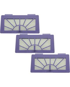 XV Series Plus.Parts HEPA High-Performance Filter Set for Neato (3-Pack)