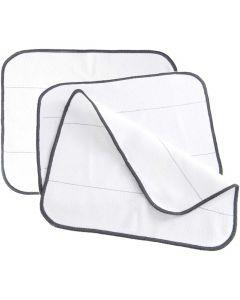 Paños Blancos de Barrido para iRobot Braava y Mint Series y Dirt Devil Evo Series